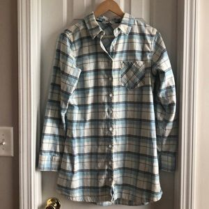 Mountain Khakis Flannel Tunic - L